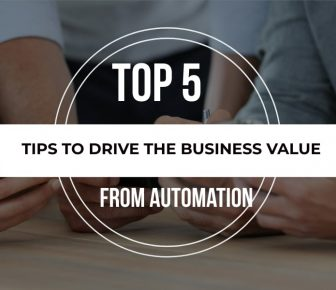 top 5 tips for test automation