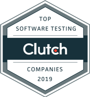 Top Software Testing company 2019 by Clutch